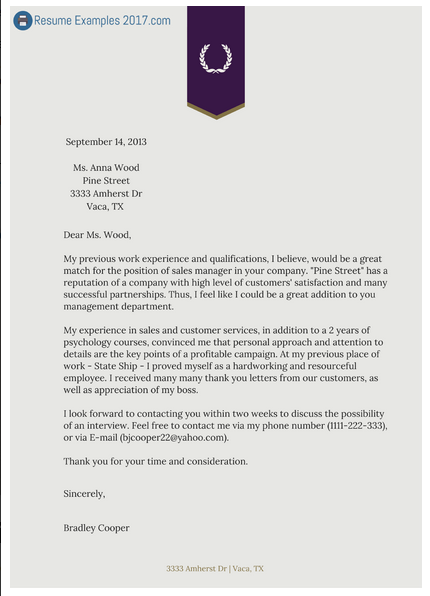 how to write an attractive cover letter and resume to