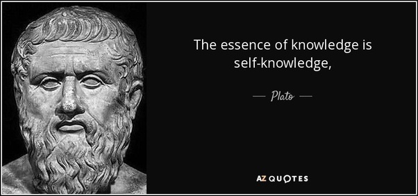 What is self according to plato