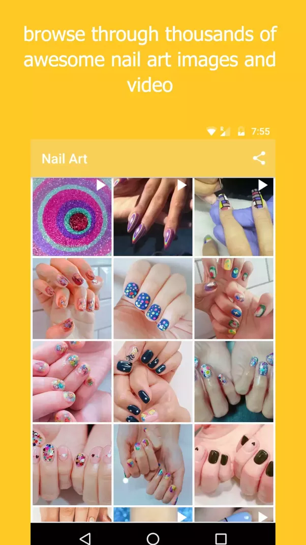 What are some easy nail designs for short nails? - Quora