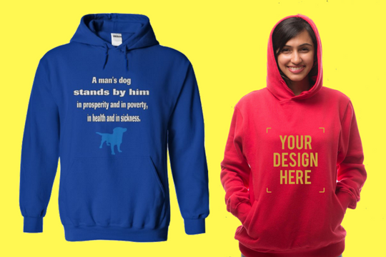 18e8110fe If you want to order custom hoodie at lowest prices in Bangalore, Alma  mater gives the best quality shirts and hoodies at the most minimal costs.