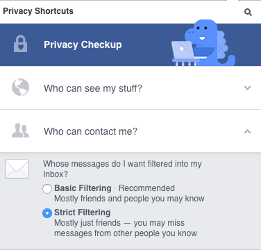 How To Block Someone From Messaging My Facebook Page Quora