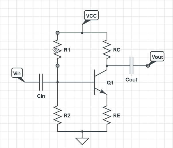 Rc Coupled Amplifier Circuit Diagram | What Is An Rc Coupled Amplifier Quora