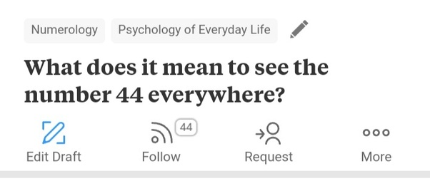 What does it mean to see the number 44 everywhere? - Quora