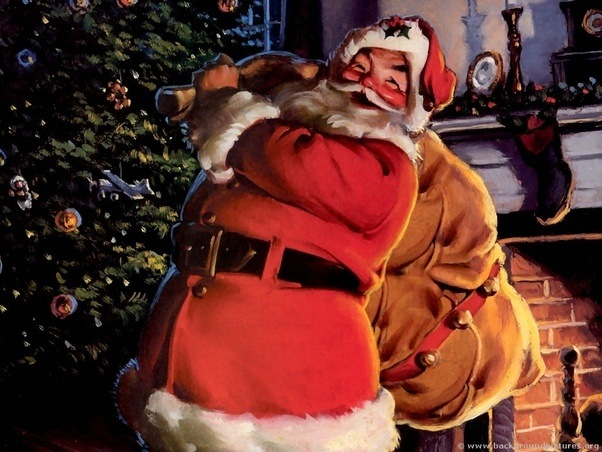 so first lets talk santa and why most people think he is just a big myth one story i sadly remember is of my nephew when he was three he informed us - Jesus Santa