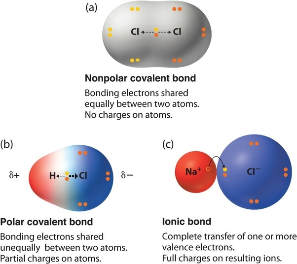 polar or nonpolar bonds What is the difference between hydrogen bonds and polar bonds? - Quora