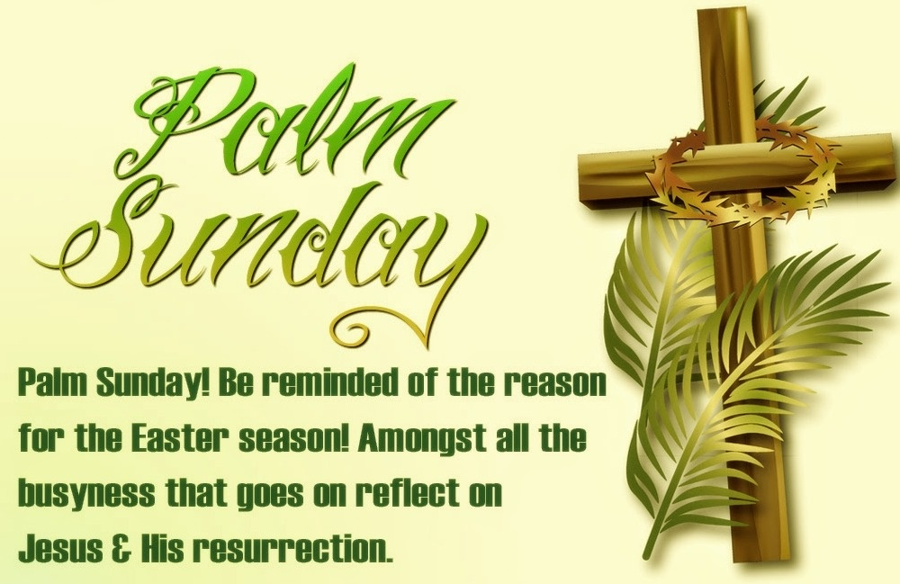 What Is The Best Quotes For Palm Sunday 2018 Quora