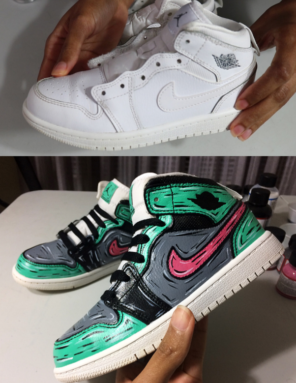 What Kind Of Paint Can I Use To Paint My White Leather Nike Af1 Sneakers Quora