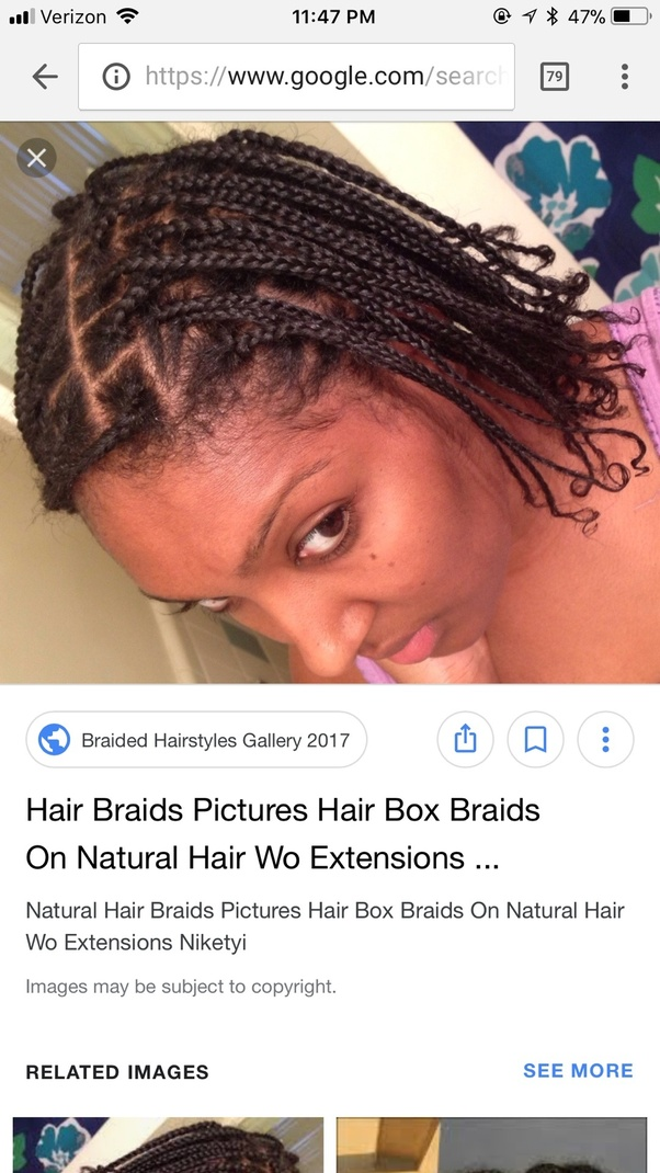 I M Considering Getting Box Braids In My Natural Hair No