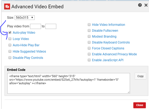 How to randomize the autoplay on an embedded YouTube playlist - Quora