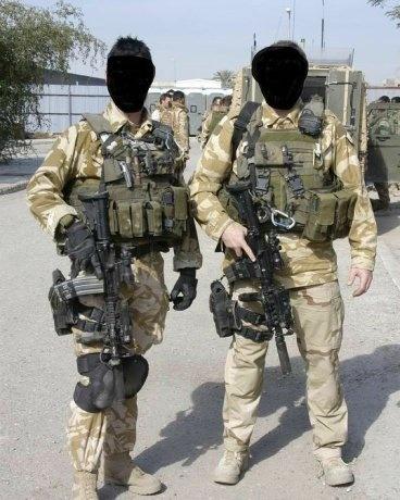 British Special Air Service (SAS) trooper during a ...  |British Sas Training