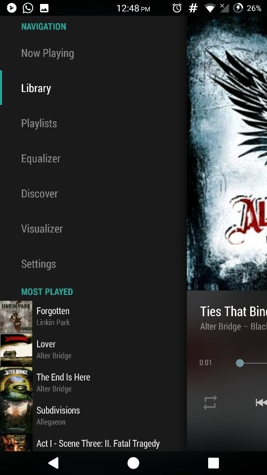 10 Excellent Free Music Player Apps for Android to Play as well as Manage Your Music