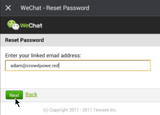 How to reset my WeChat password - Quora