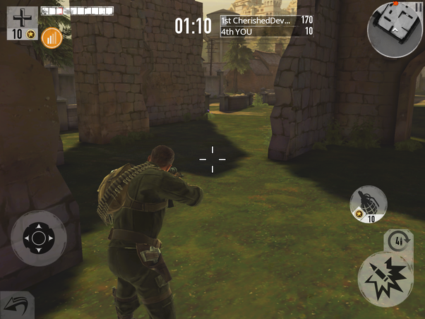 What is the best online-multiplayer shooting game on iOS ...