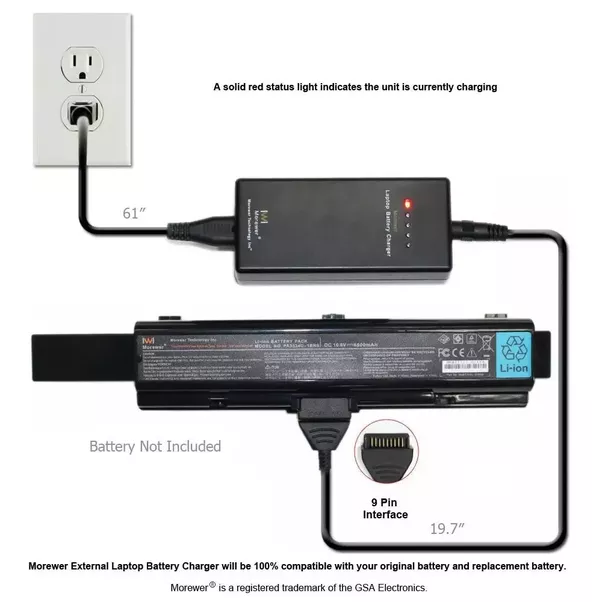 how to charge a dell laptop without a charger