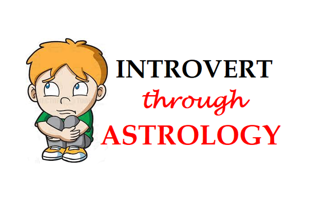 What planets or planetary combination makes a person shy/introvert