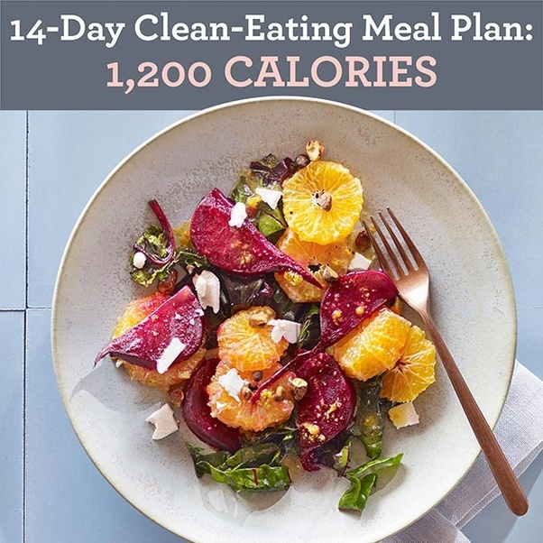 In this 2 week clean-eating meal plan you'll find plenty of whole foods  like fruits, vegetables, lean protein, whole grains and healthy fats that  will help ...