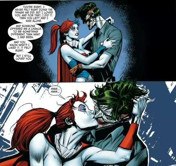 Evidence 14 Famous Picture Joker In Tuxedo With Harley