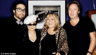 YOKO ONO John Lennons Second Wife Had Always Avoided Making Comment Or Statement Regarding Cynthia Lennon And Her Son By Julian