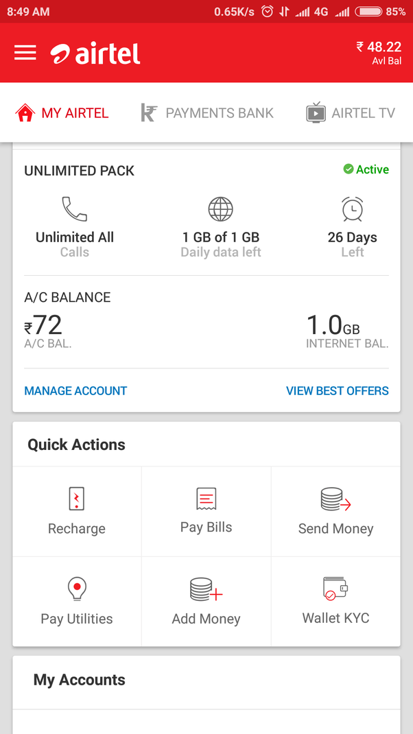 How do we recharge from the Airtel money app? - Quora