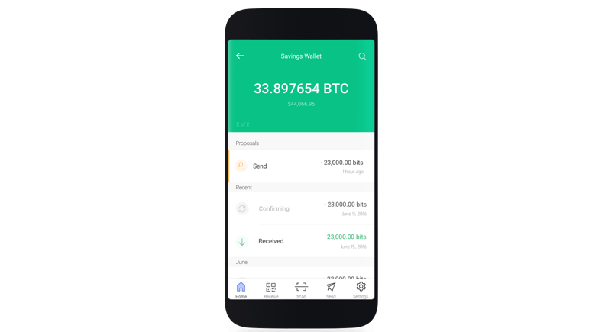 cryptocurrency wallets smartphone