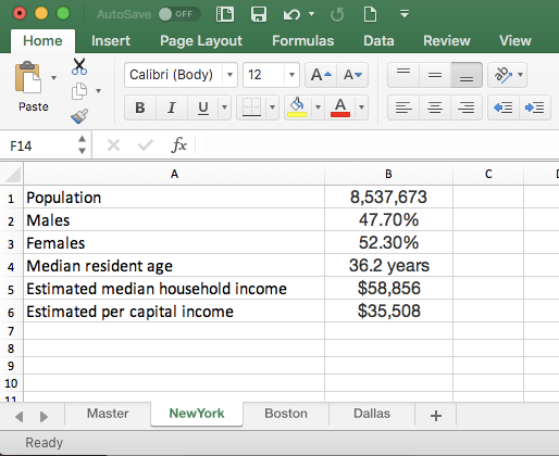 I need to pull data from the same place from multiple sheets