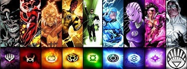 what are the 7 different lantern corps and what do they do in the dc