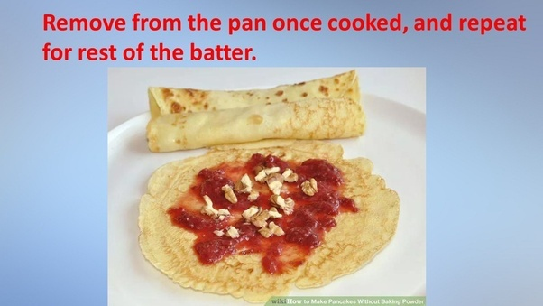 How to make homemade pancakes without baking powder quora thanks ccuart Gallery