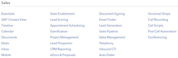 What sort of sales automation functionality can a CRM system offer