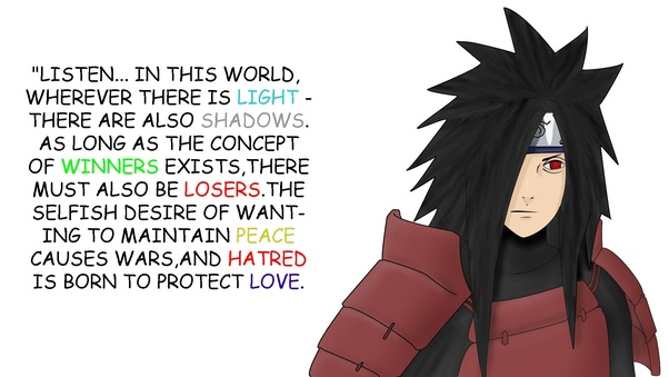Was Madara Uchiha Actually Trying To Do Good Quora
