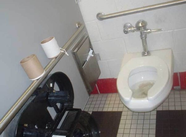 How to fix a toilet clogged with toilet paper - Quora