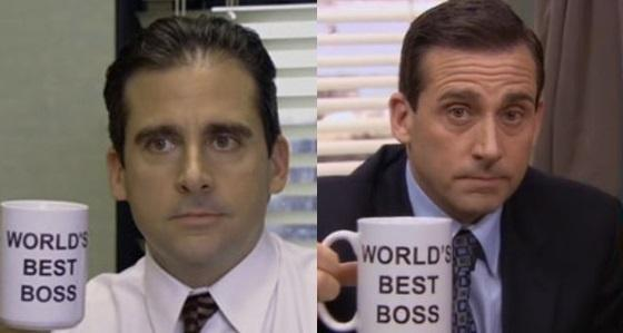 Why is Michael Scott balding in season 1 of The Office Quora