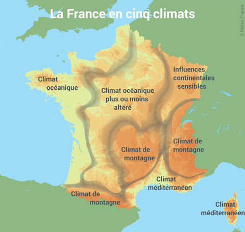 How does the climate of France affect the daily life of French people? - Quora