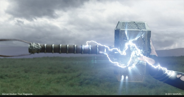 Can Thanos lift Thor's hammer having all the Infinity Stones