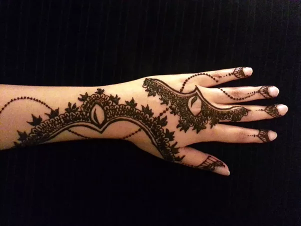 I Mehndi Henna Images : Top simple mehndi designs for hands in different styles