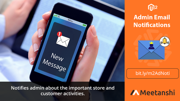 How to send an admin new order email notification in Magento