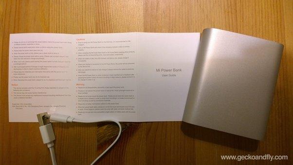 xiaomi power bank manual english pdf