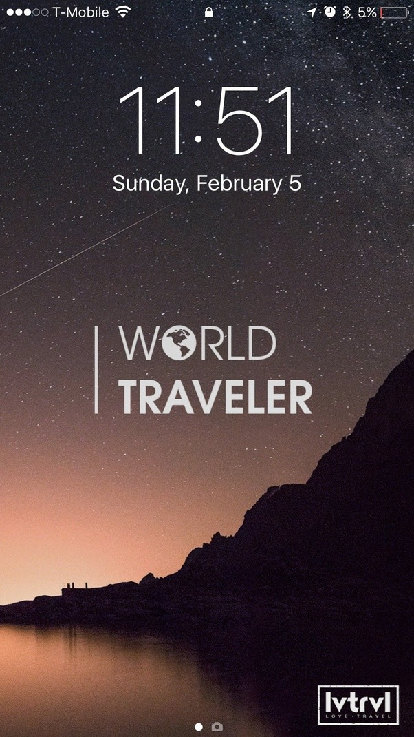 We Made A List Of 10 AWESOME Travel Wallpapers Mine Is This One