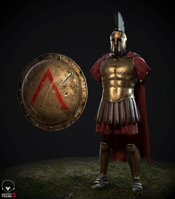 In the movie 300, why didn't the Spartans wear body armor ...