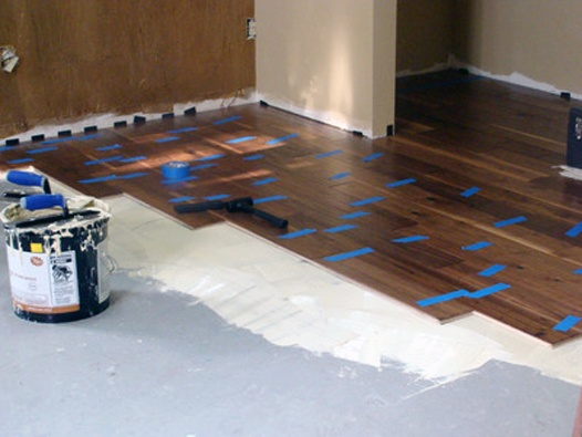 How To Install Wood Floors On Concrete Quora