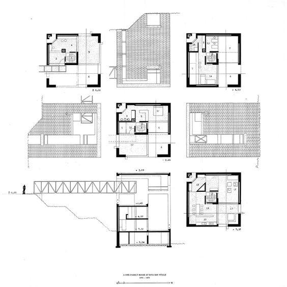 What are some examples of houses by famous architects with square as ...