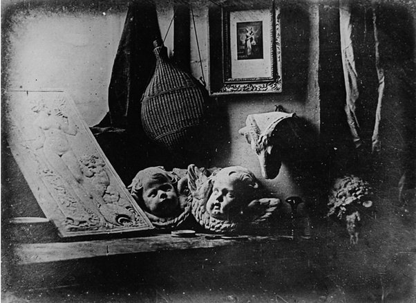 Fox talbot a british scientist released news that he had devised a process of photography that relied not on metal plates but on light sensitive paper