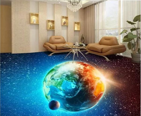 Should we install 3D epoxy flooring in restaurants, shops or