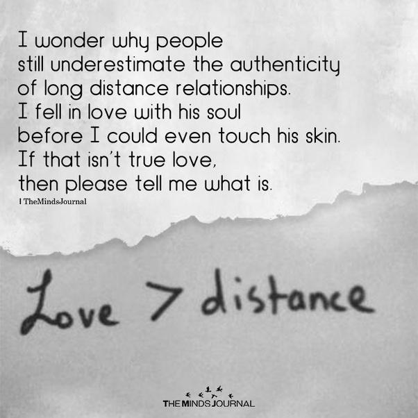 Affair quotes distance long 50 Best