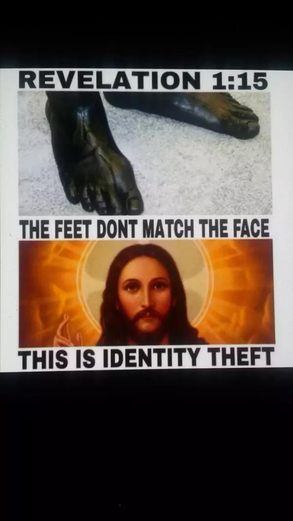 If Jesus Had Hair Like Sheep S Wool And Feet Like Burnt