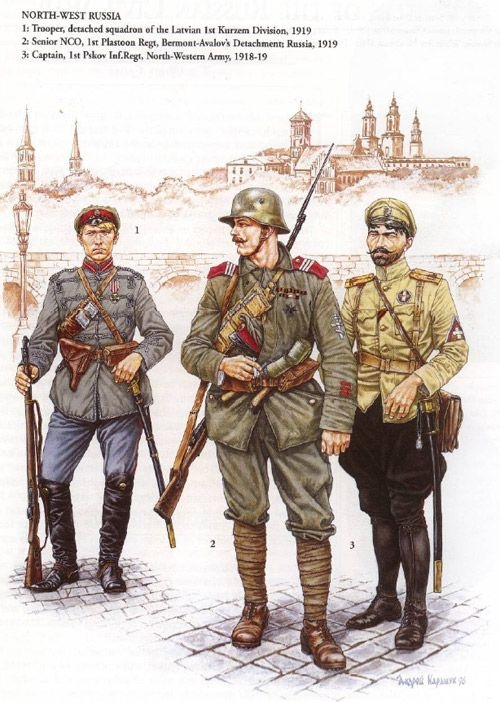 Did Russian soldiers have helmets during WW1? - Quora