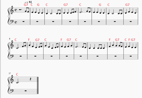 How to add piano chords to a melody - Quora