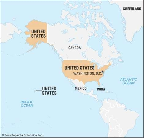 Map Of North America 50 States.What S The Difference Between America And The United States And The