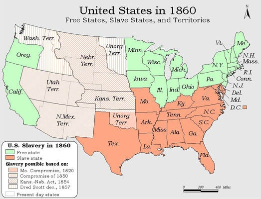 How was the American West affected during the American Civil War ...