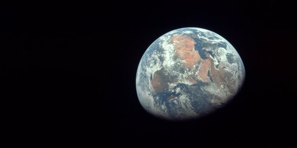 Why their is no real picture of Earth (captured from space