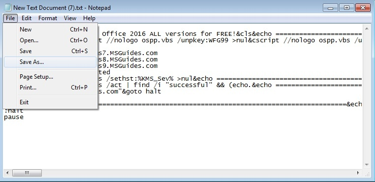 activate microsoft office 365 using cmd